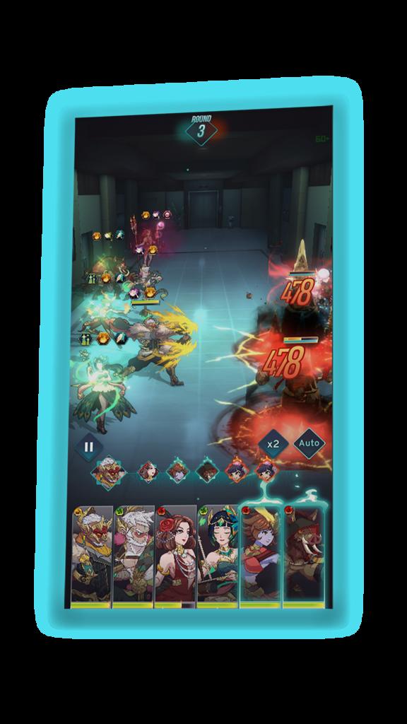 Code Atma, Indonesian Horror Idle-RPG gameplay